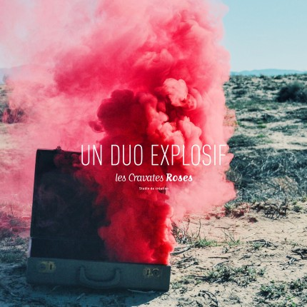 Les Cravates roses | Duo créatif